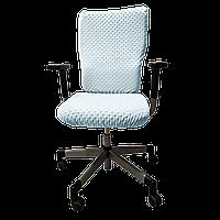 Чехол для офисного кресла Солодкий Сон Голубой