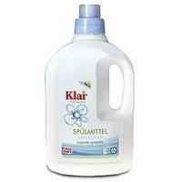 Гипоаллергенное средство для мытья посуды, 1,5л. Клар. Без запаха., фото 1