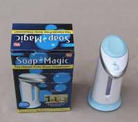 Сенсорная мыльница soap magic дозатор для мыла диспенсер автоматический