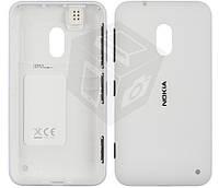 Задняя панель корпуса для Nokia Lumia 620, c боковыми кнопками, оригинал, белый