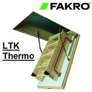 Горищні сходи FAKRO THERMO LTK, 70*120*280