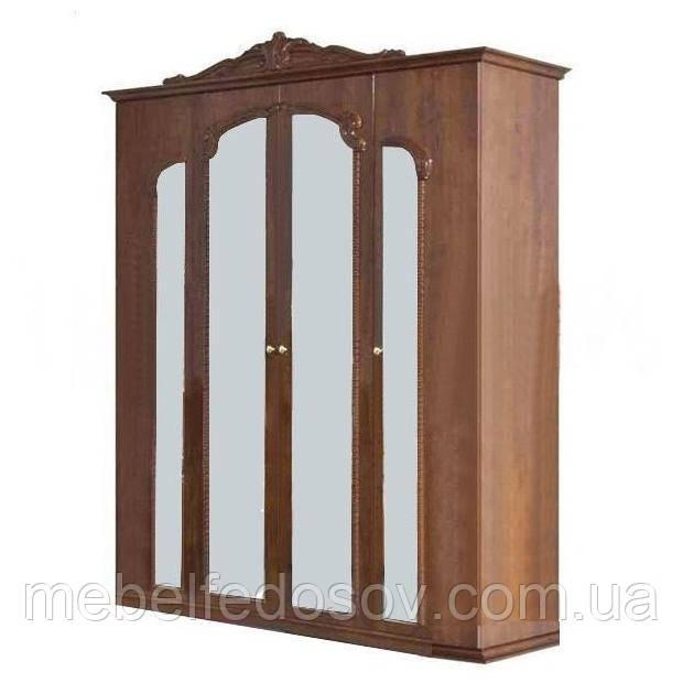 Шкаф 4Д спальня Империя Світ меблів