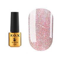 """Гель-лак FOX Dolls """"Princess"""" № 571 (пастельно-розовый с разноцветным шиммером), 6 мл"""