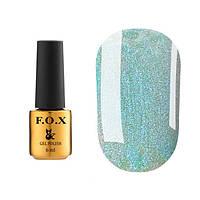 """Гель-лак FOX Dolls """"Queen"""" № 573 (небесно−голубой с шиммером), 6 мл"""