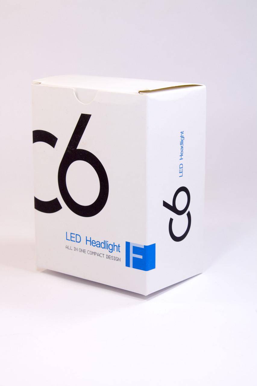 Автомобильные Светодиодные Лед LED лампы HeadLight C6