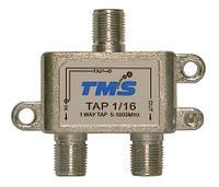 Ответвитель абонентский TAP 1/16 TMS (один выход -16дБ, проходной выход)