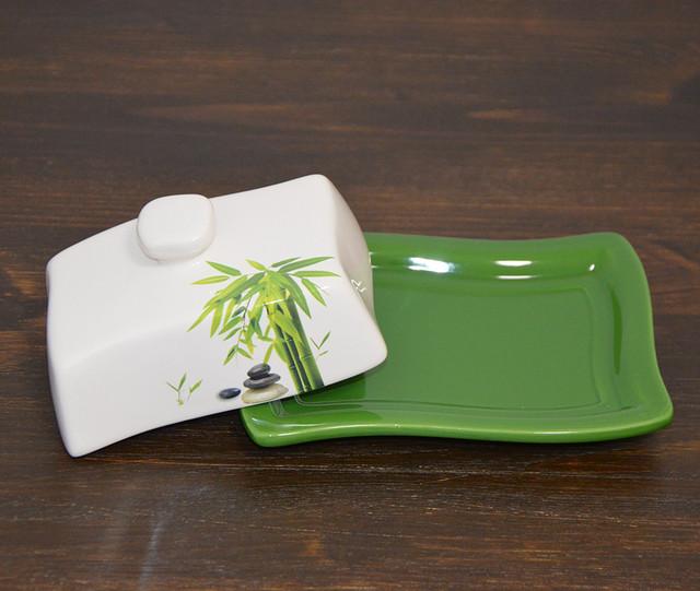 "Масленка ""Зеленый бамбук"" (фото)"