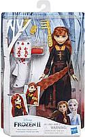Кукла Холодное сердце Анна и прибор для плетения кос Магия причесок Disney Frozen 2 Anna E7003 Hasbro
