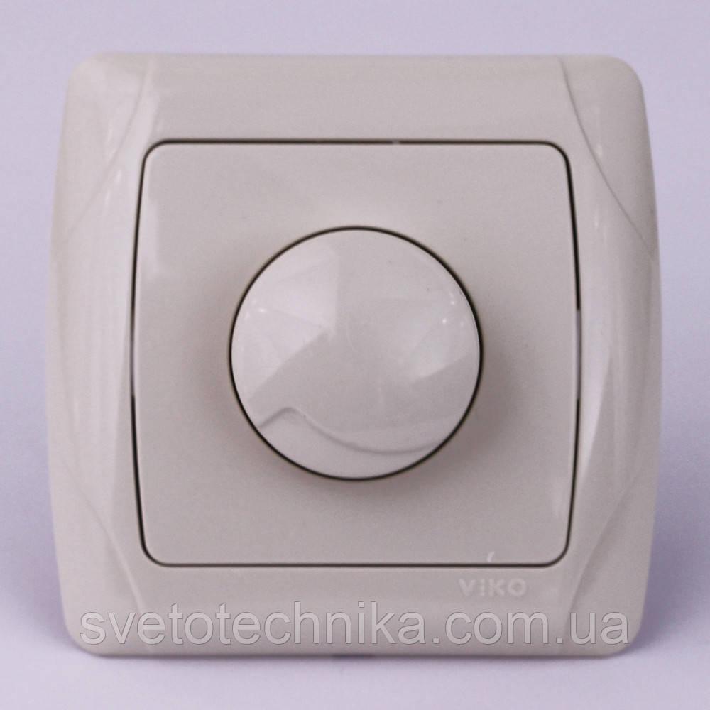 Диммер (Світлорегулятор) VI-KO Carmen 1000w прихованої установки (кремовий)