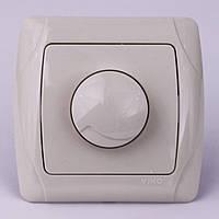 Диммер (Светорегулятор) VI-KO Carmen 600w скрытой установки (кремовый)