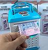 Детская электронная копилка сейф с кодовым замком и отпечатком пальца ROBOT BODYGUARD, фото 3