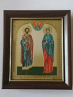 Икона Св. Муч. Адриан и Св. Муч. Наталья