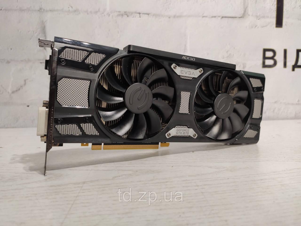 Видеокарта EVGA GeForce GTX 1070 SC GAMING