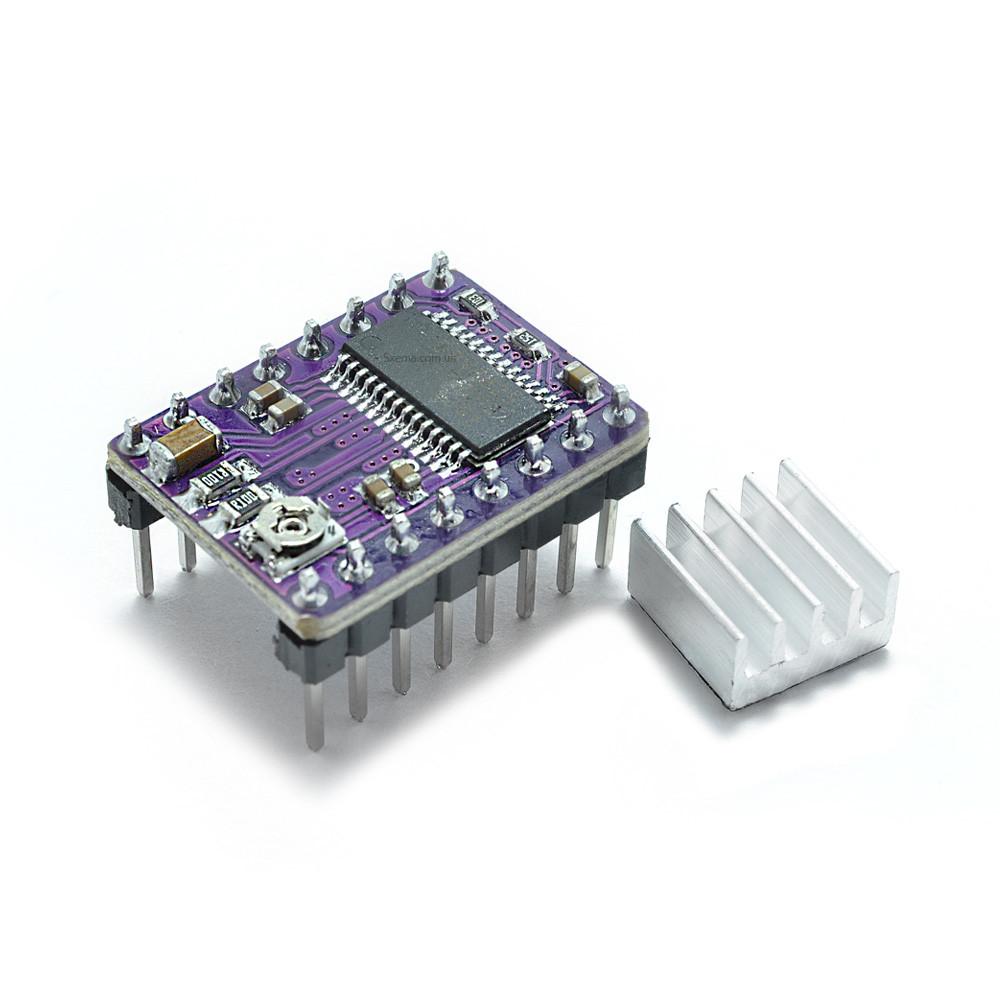 Модуль контроллер шагового двигателя  DRV8825