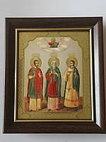 Икона Св. Муч. Гурия, Самона и Авива