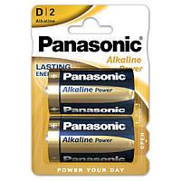 Батарейка PANASONIC ALKALINE POWER D/LR20 BL 2 ШТ