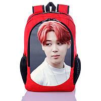 Рюкзак с принтом К поп Чимин БТС BTS (backpack036)