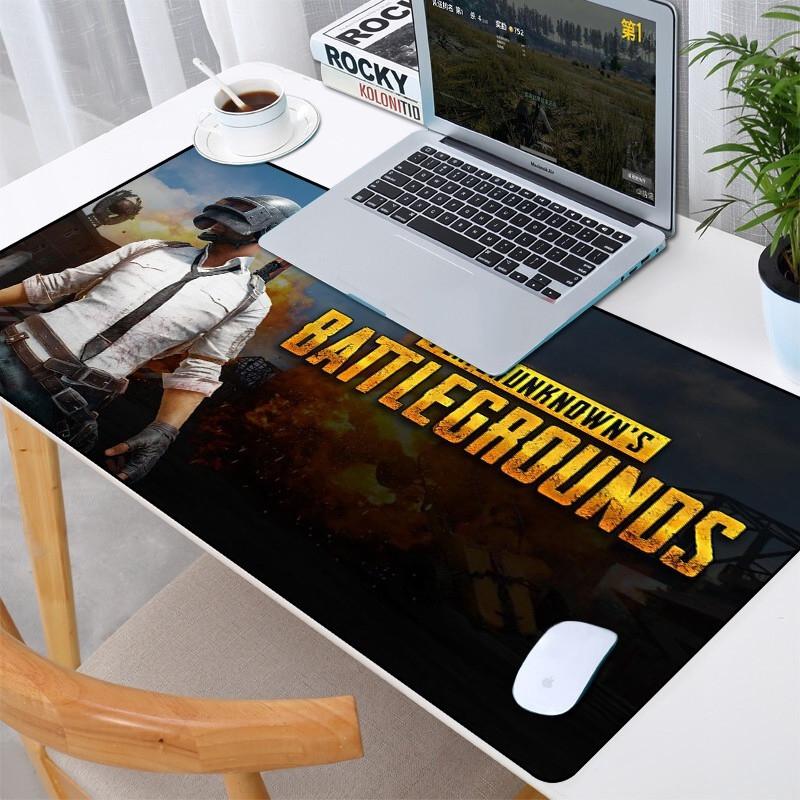 Комп'ютерний ігровий килимок для мишки великий килимок для миші Logilily BATTLEGROUNDS P-900 (40*90*0.3)