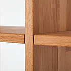 """Стеллаж для книг """"Куб"""" из дерева от производителя 1х4, фото 4"""
