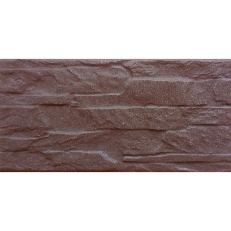 Клінкер АРАГОН коричневий 25x12,5
