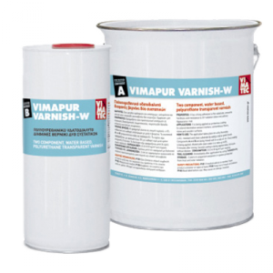 VIMAPUR VARNISH-W 2комп ПУ лак водн (5кг)