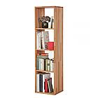 """Стелаж для книг """"Куб"""" з дерева від виробника 1х4, фото 3"""