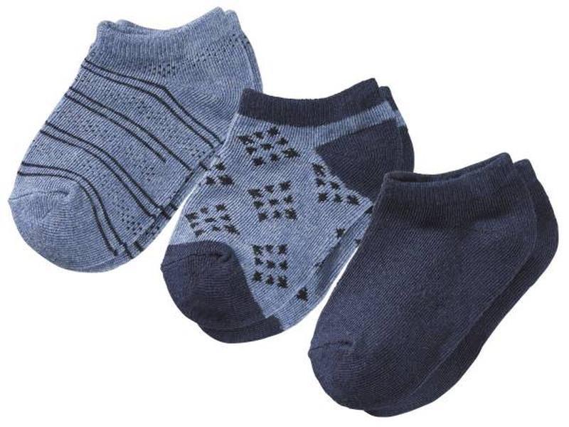 Детские носки короткие синие Lupilu (Германия) IAN297342/1 разм.27/30