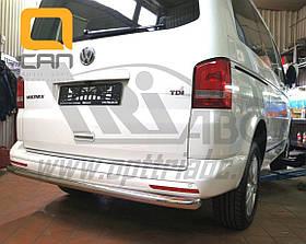 Задняя защита труба Can Otomotiv для VW T5, T6