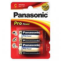 Батарейка PANASONIC C LR14 Pro Power