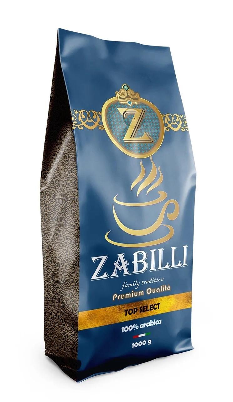 Кофе из Италии зерновой Zabilli Top Select 1 кг