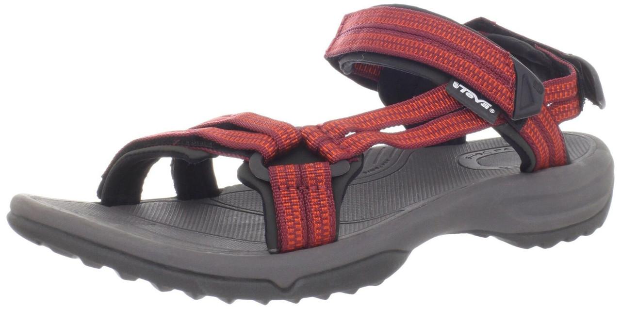 Жіночі сандалі Teva Terra Fi Lite W's 36 Double Zipper Red Orange