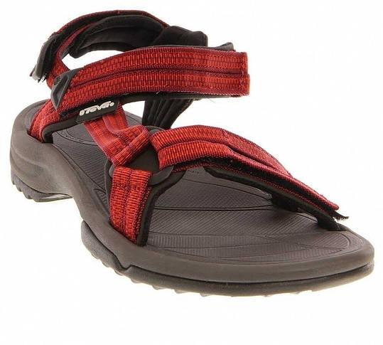 Жіночі сандалі Teva Terra Fi Lite W's 36 Double Zipper Red Orange, фото 2