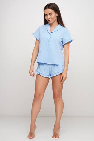 Пижама шорты рубашка, фото 2