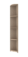 Угловой элемент к шкафу купе Сити лайт 300х450х2250 ДСП Сонома