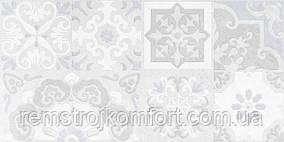 Плитка для стены Golden Tile Doha pattern серый 300x600