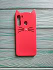 Чехол 3D Cat для Samsung Galaxy A21 2020  A215F Бампер Усики (2 цвета), фото 5