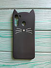 Чехол 3D Cat для Samsung Galaxy A21 2020  A215F Бампер Усики (2 цвета), фото 6