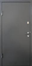 Двери входные металлические Qdoors Стандарт М Горизонаталь дуб вулканический