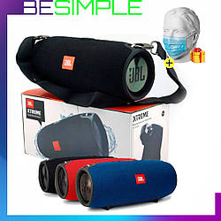 Колонка JBL Xtreme BIG Портативна Bluetooth акустика / Бездротова колонка + Одноразова маска в Подарунок