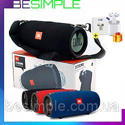 Колонка JBL Xtreme BIG Портативна Bluetooth акустика / Бездротова колонка + Навушники Airpods в Подарунок