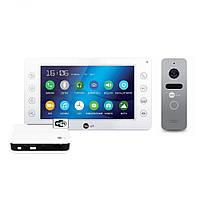 Комплект видеодомофона NeoLight Kappa+ WiFi Box Silver, фото 1