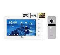 Комплект Wi-Fi видеодомофона NeoLight NeoKIT HD Pro WiFi Silver