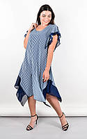 Летнее платье женское для больших размеров НИВЕЯ,в расцветках , размер 50-64 ,цвет мята