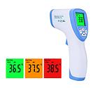 Електронний безконтактний інфрачервоний термометр Non contact model Non contact DT-8809C (голубой-белый ), фото 6