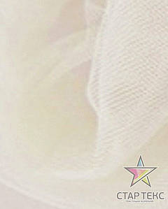 Фатин средней жесткости Crystal Tul Айвори