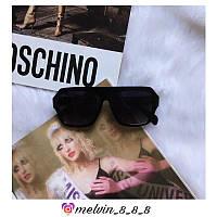 Сонцезахисні окуляри квадратні Celine репліка Чорні з градієнтом