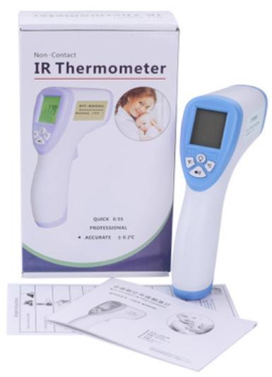 Бесконтактный медицинский термометр Non-contact forehead infrared thermometer