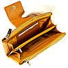 Большой женский кошелек BUTUN 507-004-008 кожаный желтый, фото 5