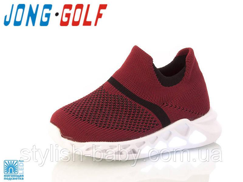 Детская обувь 2020 с подсветкой. Детская спортивная обувь бренда Jong Golf для мальчиков (рр. с 21 по 26)