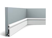 Плинтус гибкий напольный Orac Decor Axxent SX137F,(9.9x1.5x200 см),лепной декор из дюрополимера